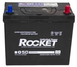 Rocket. 55 А.ч., правое крепление, производство Корея. Под заказ