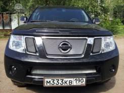 Дефлектор радиатора. Nissan Navara Nissan Pathfinder