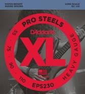 D'Addario EPS230 Prosteels Комплект струн для бас-гитары, Heavy, 55-11. Под заказ