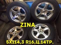 Zina. 7.0x16, 5x114.30, ET48, ЦО 73,0мм.