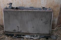 Радиатор охлаждения двигателя. Toyota RAV4, ZCA26W, ZCA26 Двигатель 1ZZFE