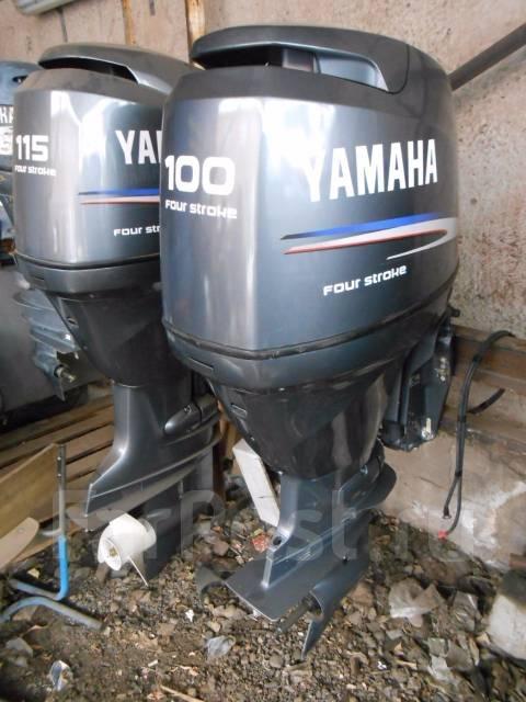 мотор лодочный yamaha 100