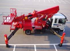 Hyundai. Автовышка ПСС-132.3 -120 Автогидроподъемник, 3 000 куб. см., 35 м.