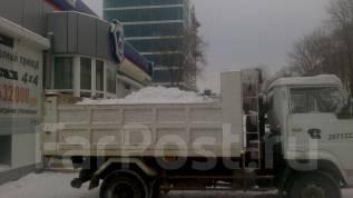 Вывоз снега, грунта, мусора. Уборка территорий от грунта, мусора, снега