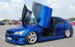 Обвес кузова аэродинамический. Toyota Altezza