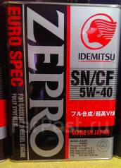 Idemitsu. Вязкость 5W40, синтетическое