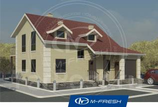 M-fresh Smart-зеркальный. 100-200 кв. м., 2 этажа, 5 комнат, панели