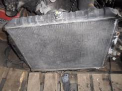 Радиатор охлаждения двигателя. Mitsubishi Pajero Двигатель 4M40