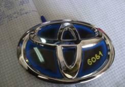 Эмблема решетки. Toyota Prius, ZVW30, ZVW30L, ZVW35 Двигатель 2ZRFXE