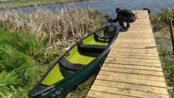 """Лодка из жёсткого полиэтилена """"Карелия"""". Год: 2015 год, длина 4,46м., двигатель подвесной, 5,00л.с. Под заказ"""