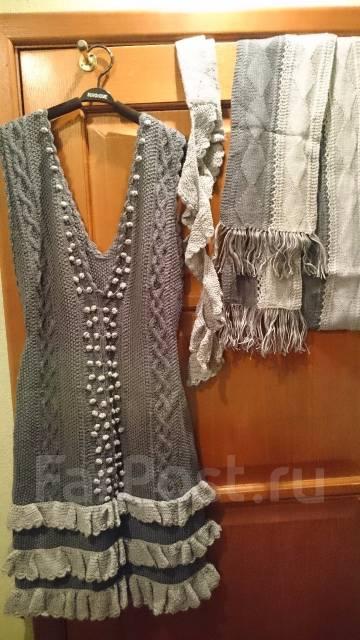 971508b6727 Продам сарафан-платье вязанное