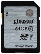 SDXC. 64Гб, интерфейс SD