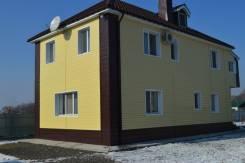 Продам новый капитальный дом. Улица Целинная 18, р-н мро, площадь дома 146кв.м., скважина, электричество 30 кВт, отопление электрическое, от частног...