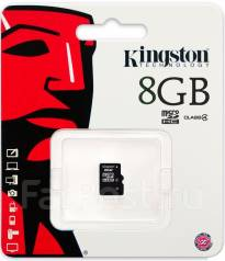 MicroSD. 8Гб, интерфейс Micro SD