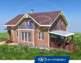 M-fresh Anton style-зеркальный (На мансарде три комнаты! ). 200-300 кв. м., 2 этажа, 5 комнат, кирпич