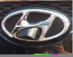 Камера переднего вида логотип Hyundai.