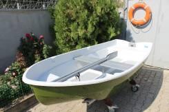 Новая устойчивая и надёжная пластиковая лодка под мотор до 6л. с. Год: 2017 год, длина 3,15м., двигатель подвесной, 6,00л.с., бензин