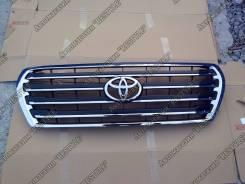Решетка радиатора. Toyota Land Cruiser, UZJ200W, VDJ200, URJ202W, URJ202, UZJ200 Двигатели: 1VDFTV, 1URFE, 2UZFE