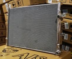 Радиатор охлаждения двигателя. Volkswagen Passat CC Volkswagen Golf Volkswagen Caddy Двигатели: CCZB, ATD, ATN, AUS, AZD, BCB
