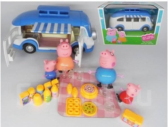 Автобус свинка пеппа игрушки