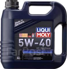 Liqui Moly Optimal Synth. Вязкость 5W40, синтетическое