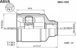 Кольцо шруса. Subaru Legacy, BEE Двигатель EZ30D