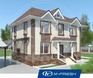 M-fresh Paradise (Покупайте сейчас проект со скидкой 20%! ). 100-200 кв. м., 2 этажа, 5 комнат, бетон