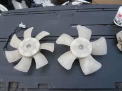 Мотор вентилятора охлаждения. Toyota Prius, NHW20 Двигатель 1NZFXE