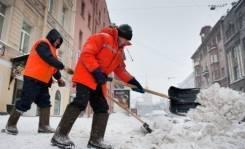 Оказываем услуги по уборки снега, и льда на ваших территориях. (вывоз )
