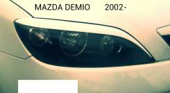 Накладка на фару. Mazda Demio, DY3R