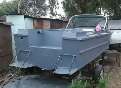 """Модернизация катеров """"Амур-М"""", """"Амур-Д"""", под подвесной двигатель. Труб"""