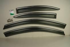 Ветровики (дефлекторы боковых окон) Nissan MARCH