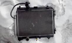 Радиатор охлаждения двигателя. Toyota Ractis Двигатель 2SZFE