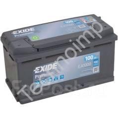 Аккумуляторная батарея Exide Premium EA1000. 100А.ч., Обратная (левое), производство США