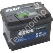Аккумуляторная батарея Exide Premium EA602. 60 А.ч., левое крепление, производство США. Под заказ