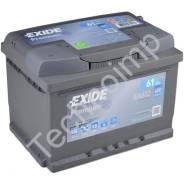 Аккумуляторная батарея Exide Premium EA612. 61 А.ч., левое крепление, производство США. Под заказ