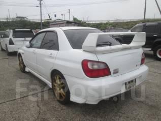Спойлер на заднее стекло. Subaru Impreza WRX STI
