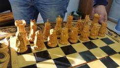 Продам шахматы+нарды (ручная работа)