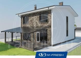 M-fresh Born free-зеркальный (Узнайте, как купить со скидкой 20%! ). 200-300 кв. м., 2 этажа, 5 комнат, бетон