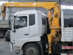 Dongfeng. Борт с кран-манипулятором, 2008г, 4 500 куб. см., 5 000 кг.