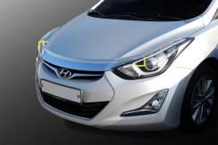 Дефлектор капота. Hyundai Avante, MD Hyundai Elantra, MD