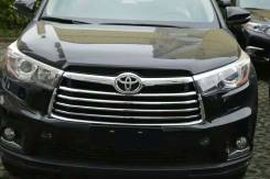 Молдинг решетки радиатора. Toyota Highlander, ASU50, ASU50L, GSU50, GSU55, GSU55L, GVU58 Двигатели: 1ARFE, 2GRFE, 2GRFKS, 2GRFXE, 2GRFXS