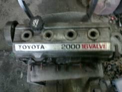 Головка блока цилиндров. Toyota Carina ED, ST182 Двигатель 3SFE