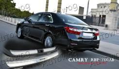 Накладка на бампер. Toyota Camry, ASV50, AVV50, GSV50