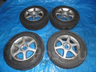 Шины и диски Goodyear 215/70/16 зима. 7.0x16 4x114.30, 5x114.30 ET36