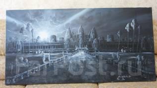 """Отличный подарок: Картина """"Ночной Ангкор-Ват"""""""