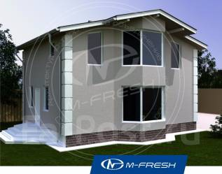 M-fresh Young man (Покупайте сейчас проект со скидкой 20%! ). 100-200 кв. м., 1 этаж, 4 комнаты, каркас