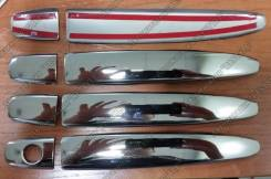 Накладка на ручки дверей. Toyota Estima, GSR55W, GSR55, ACR50, ACR50W, ACR55, GSR50W, GSR50, ACR55W Двигатели: 2AZFE, 2GRFE
