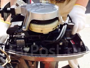Tohatsu. 8,00л.с., 2х тактный, бензин, нога S (381 мм), Год: 2000 год