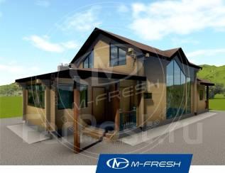 M-fresh Classic wood (Покупайте сейчас проект со скидкой 20%! ). до 100 кв. м., 1 этаж, 5 комнат, дерево